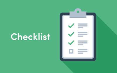 Home Office Checklist