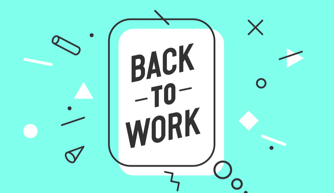 Tips for helping employees return to work in 2021